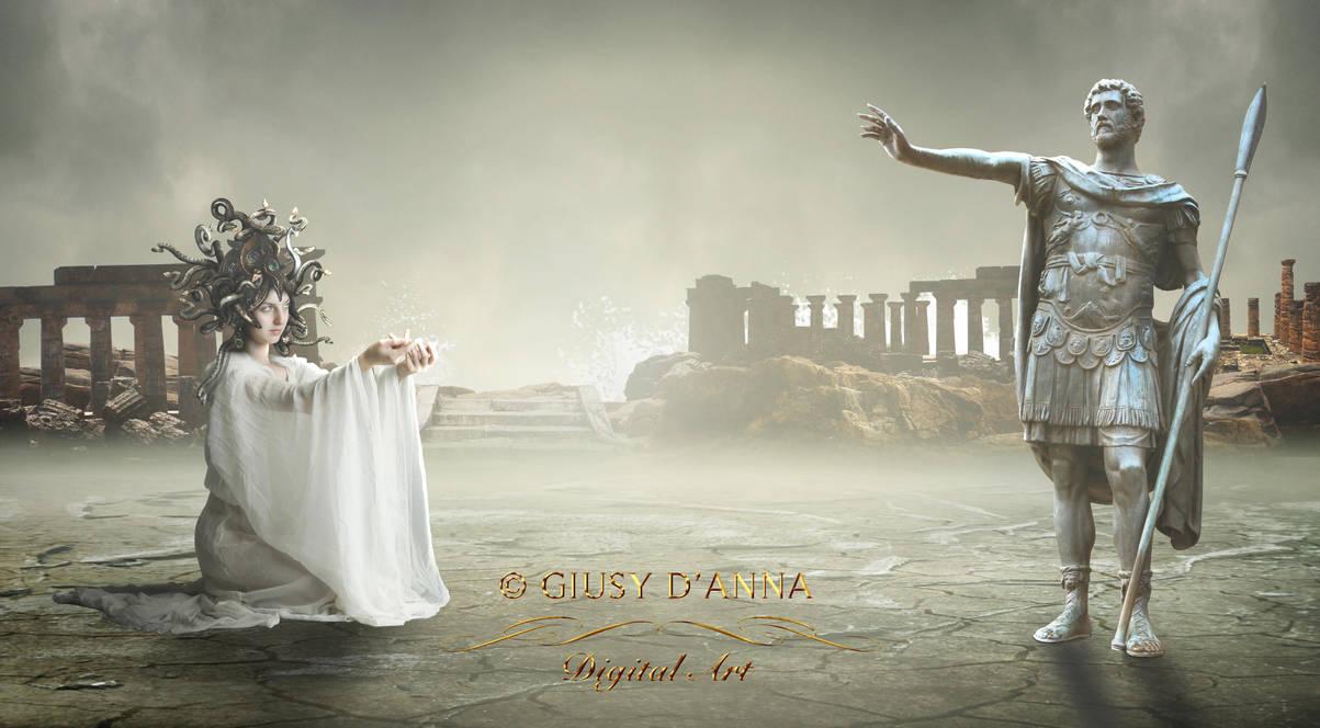 The Medusa's gaze by gayaliberty