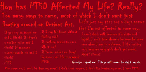 The Affects of PTSD by yournamehere47547376
