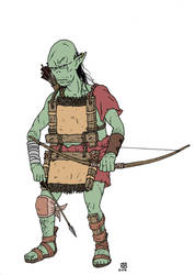 Orc Archer by pfendino