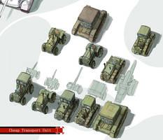 Inexpensive transport unit. by QU-RO-QURO