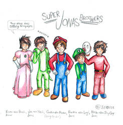 Super Jonas Brothers by eme1191