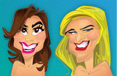 Caricatures / Avatars by gordomanteca