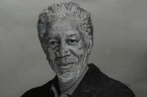Morgan Freeman by Ed-Head73