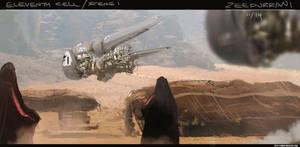 Bedouin Village 2194 by zeedurrani