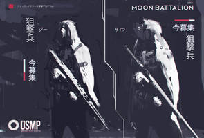 USMP Sniper Sketches by zeedurrani
