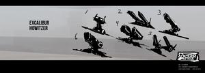 Ocean at War - Howitzer Concepts by zeedurrani