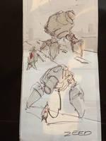 Biro Doodle Sketches by zeedurrani
