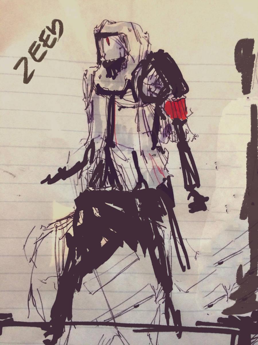 More Cyberpunk Droids 15022017 by zeedurrani