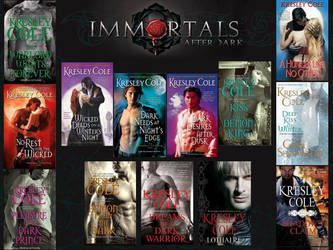 Immortals after dark collage by NixTheEverknowing