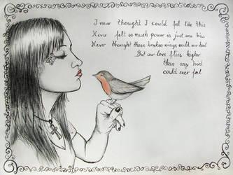 Robin by libellchen