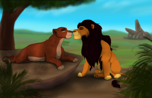 Ahadi and Uru by Aariina