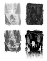 Contrast Studies by Agent-Jolliday