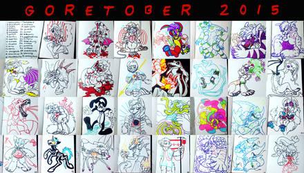 GORETOBER 2015 by aisu-isme