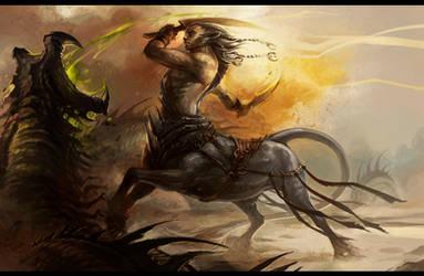 centaur by sandara