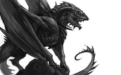 beast wip by sandara