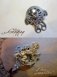 Greyjoy and Lannister by sandara