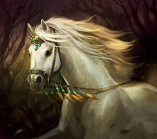 Asfaloth by sandara