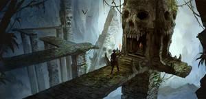 Skull Cave by sandara