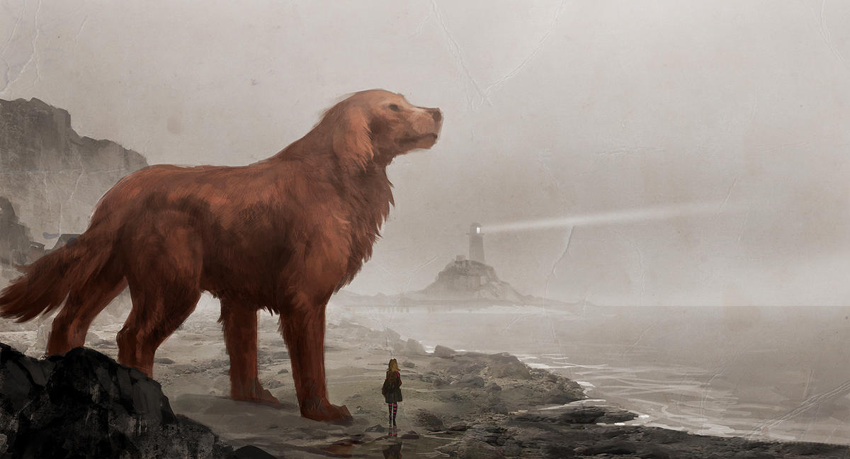 Clifford the big red dog by sandara