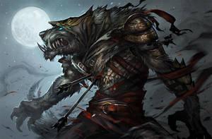 Werewolf by sandara