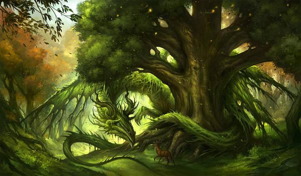 Green Dragon by sandara