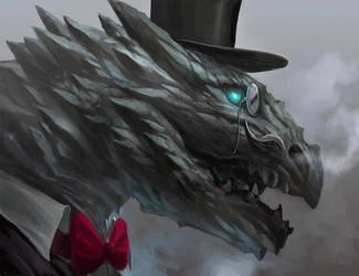 Sir Dragon by sandara