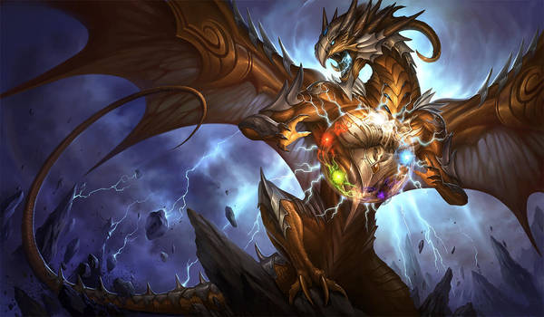Artifact Dragon by sandara