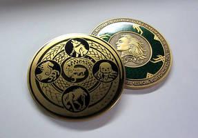 My 2nd coin design! by sandara