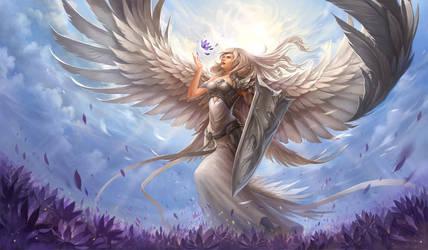 White Angel by sandara