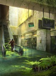 Abandoned Station - Photobash by sandara