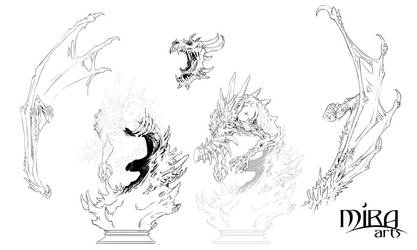 Naraka Dragon Breakdown by sandara