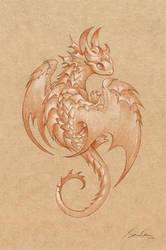 Paper Dragon 1 by sandara