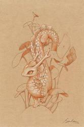 Paper Dragon 2 by sandara