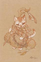 paper cat 2 by sandara