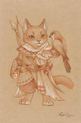 paper cat 3 by sandara