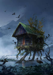 Walking House by sandara