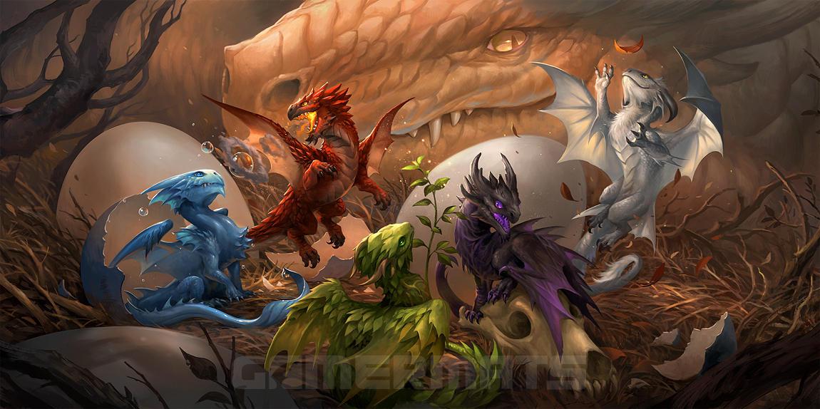 Baby Dragons by sandara