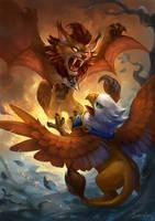 Alliance Vs Horde - cute version by sandara