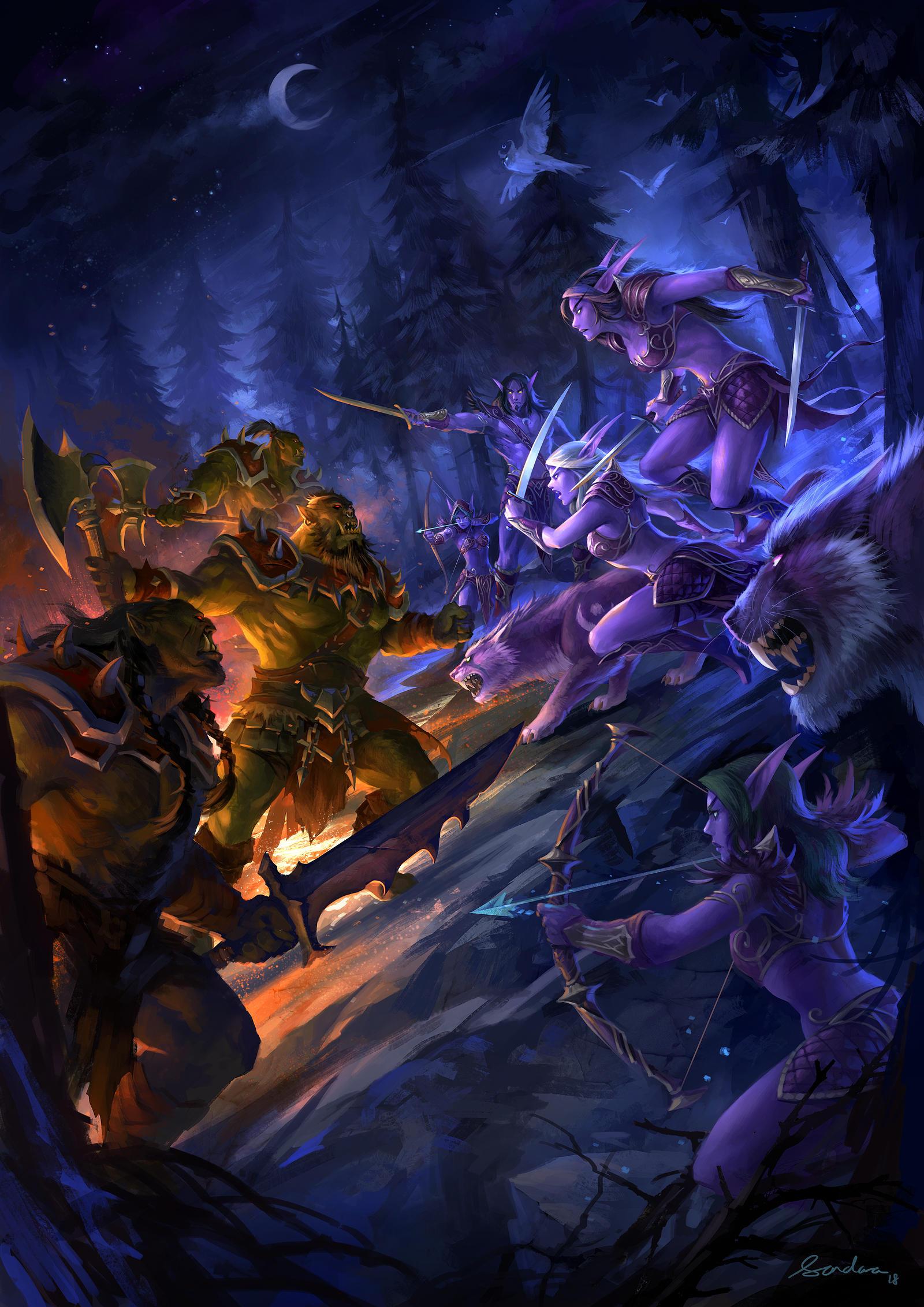 War of the Thorns by sandara