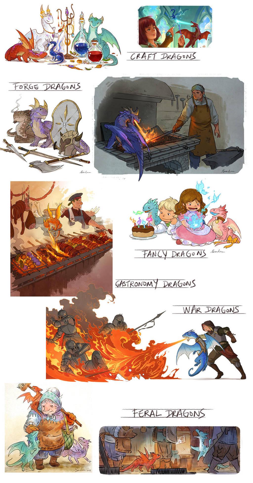 All Dragons by sandara