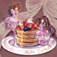 welcome to k-on cafe :) by tandolcedeco
