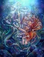 miku underwater by tandolcedeco
