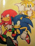 Sonic Heroes by Sky-The-Echidna