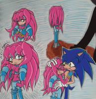 Sonic X Sky- Long Awaited Return by Sky-The-Echidna