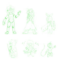 Plant Race Concepts [1/2][Zeldesque] by TheDemonskunk