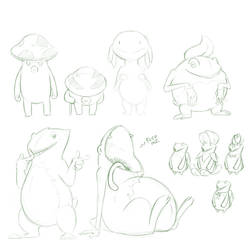 Plant Race Concepts [2/2][Zeldesque] by TheDemonskunk