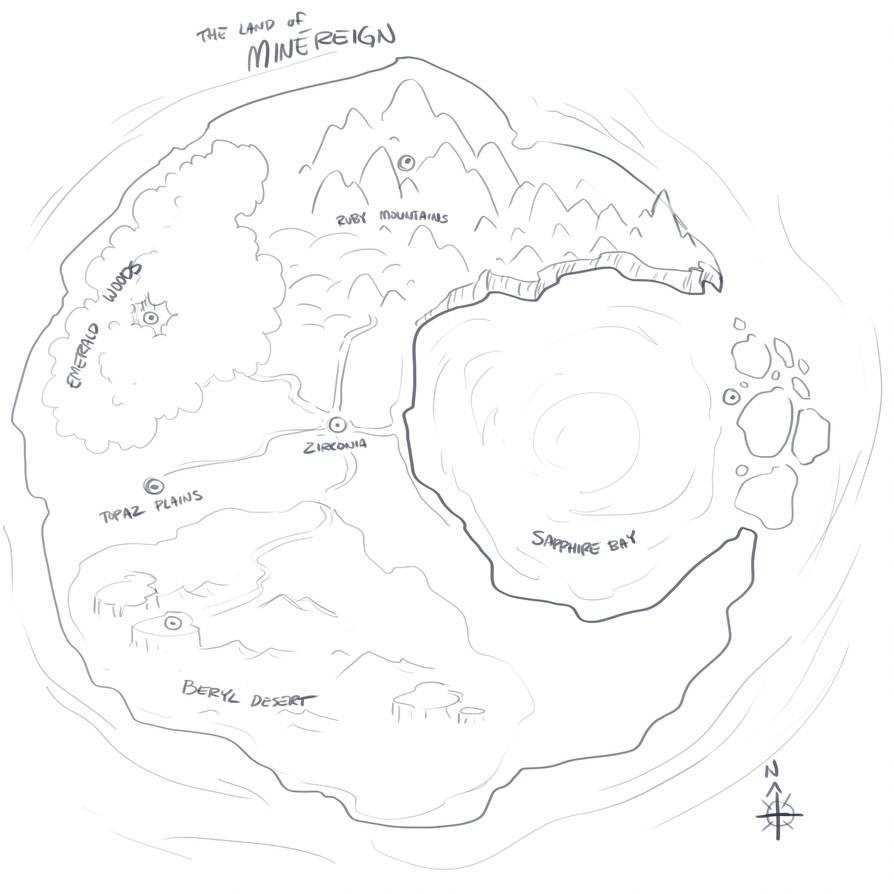 World Map V.1 [Zeldesque] by TheDemonskunk
