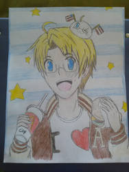 Hetalia America by colourfulart82