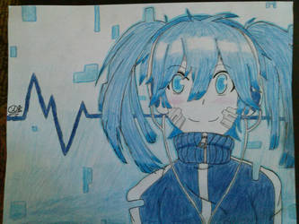 Kagerou Project Ene by colourfulart82