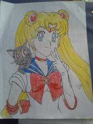 Sailor Moon by colourfulart82